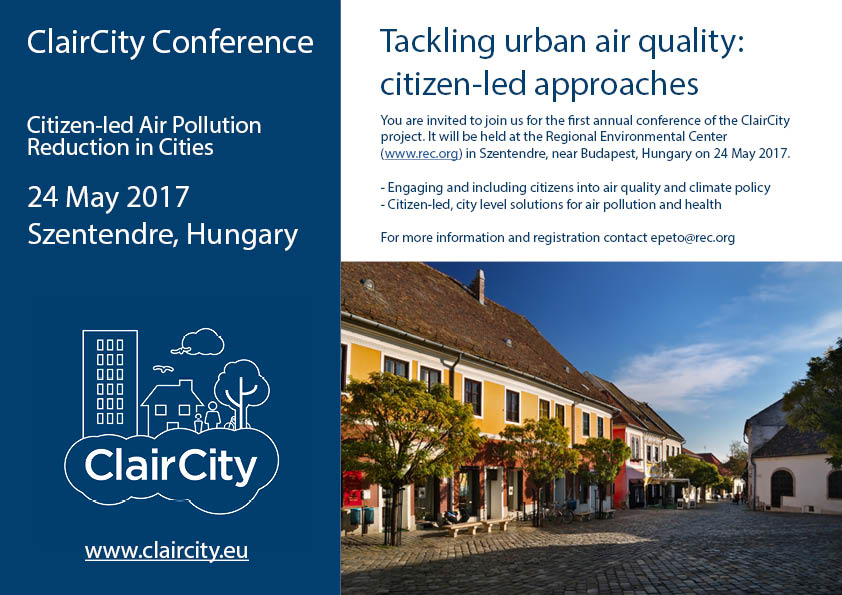 Claircity Conference Agenda Released  ClaircityEu
