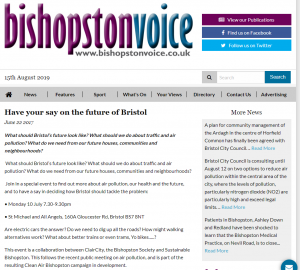Have Your Say, 2017, Bishopston Voice