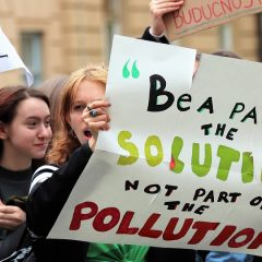 School Strike 4 Climate - Be Part of the Solution not the Pollution