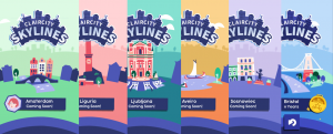 Skylines for each city